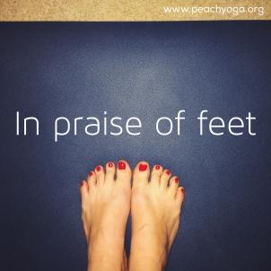 In praise of feet