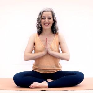 Beth Peach   Peach Yoga   Sukhasana   Easy Pose